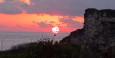 nicht zu verwechseln mit dem Sonnenaufgang :-)