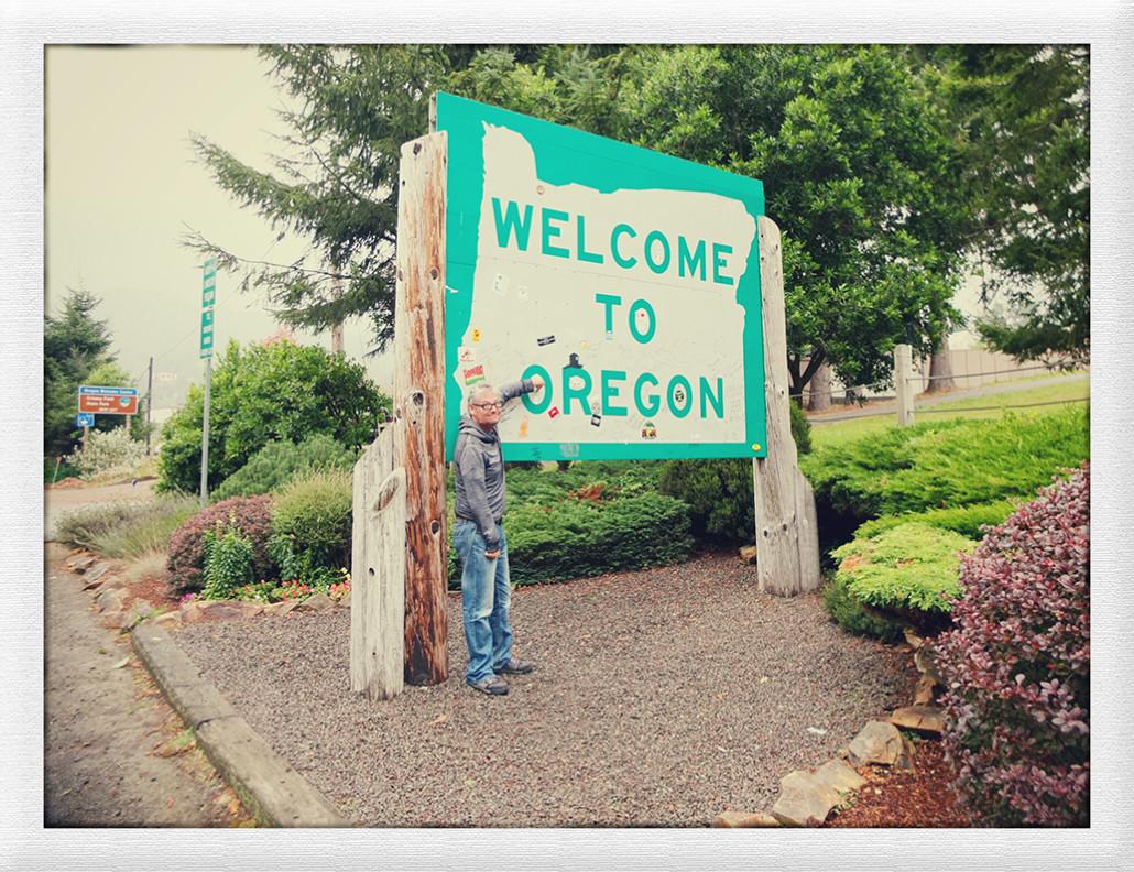 Oregon, kurz und nass